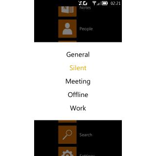 Profiles app